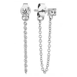 Sif Jakobs Jewellery SJ-E1071-CZ Earrings Princess Piccolo Lungo