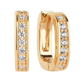 Sif Jakobs Jewellery SJ-E2772-CZ-YG Earrings Matera Piccolo Gold-Plated