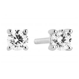 Sif Jakobs Jewellery SJE3MMRD-CZ Ladies Earrings Princess Piccolo