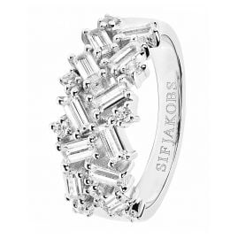 Sif Jakobs Jewellery SJ-R0463-CZ Ladies Ring Antella Silver