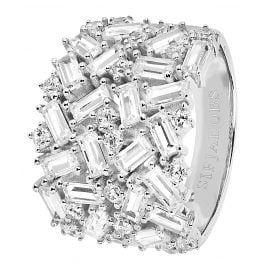 Sif Jakobs Jewellery SJ-R0493-CZ Ladies Ring Antella Grande