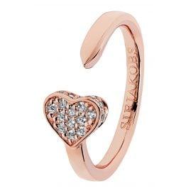 Sif Jakobs Jewellery SJ-R2185-CZ(RG) Damenring Amore Rosé