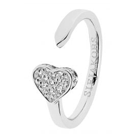 Sif Jakobs Jewellery SJ-R2185-CZ Ladies Ring Amore Silver
