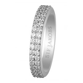 Sif Jakobs Jewellery SJ-R10762-CZ Ladies Ring Corte Due