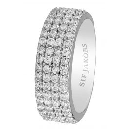 Sif Jakobs Jewellery SJ-R10764-CZ Ladies Ring Corte Quattro