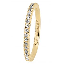 Sif Jakobs Jewellery SJ-R2869-CZ(YG) Ladies' Ring Ellera