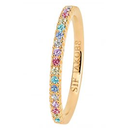 Sif Jakobs Jewellery SJ-R2869-XCZ(YG) Ladies' Ring Ellera