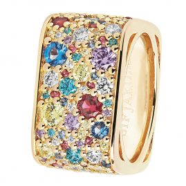 Sif Jakobs Jewellery SJ-R1060-XCZ(YG) Damenring Novara Quadrato