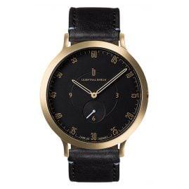 Lilienthal Berlin L01-106-B004B Armbanduhr L1 gold/schwarz