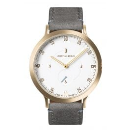 Lilienthal Berlin L01-102-B009B Watch L1 gold/white/grey