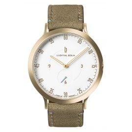 Lilienthal Berlin L01-102-B021B Armbanduhr L1 gold/weiß/khaki