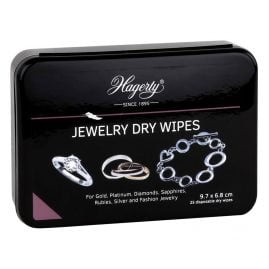 Hagerty A116339 Jewelry Dry Wipes 25 pieces