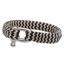 Pig & Hen P09-63203 Herrenarmband Bombay Barry Navy/Gold