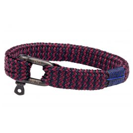 Pig & Hen P07-63653 Herrenarmband Sharp Simon Navy/Lila