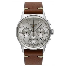 Iron Annie 5376-1 Men's Watch Chronograph G38 Dessau Brown Leather Strap