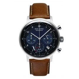 Iron Annie 5086-3 Solar Herrenuhr Chronograph Bauhaus Lederband braun