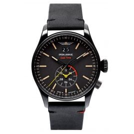 Iron Annie 5144-2 Men's Watch FC Dual Time Black