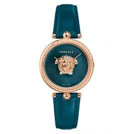 Versace VECQ00318 Damen-Armbanduhr Palazzo Empire Petrol