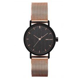 Take A Shot Susy Damen-Armbanduhr mit Holz-Zifferblatt