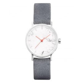 Take A Shot Ivy Damen-Armbanduhr mit Marmor-Zifferblatt