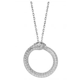 Xenox XS4236 Silver Necklace for Ladies Paradise