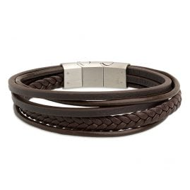 Xenox X2597 Herrenarmband Leather & More