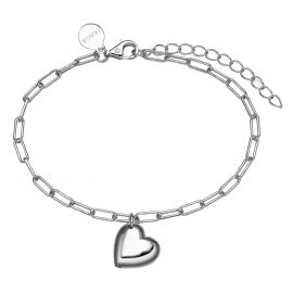 Xenox XS1938 Silver Ladies' Bracelet with Heart Delight