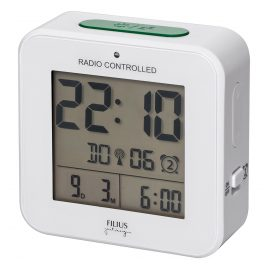 Filius 0531-0 Radio-Controlled Digital Alarm Clock