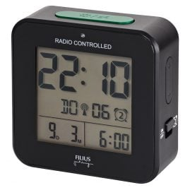 Filius 0531-7 Radio-Controlled Digital Alarm Clock