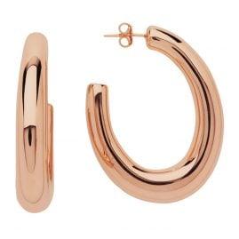 Lott Gioielli CLEA726-R41011 Hoop Earrings Deluxe