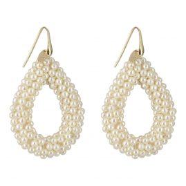 Lott Gioielli CEGB004-G04830 Ohrhänger Glassberry Pearl