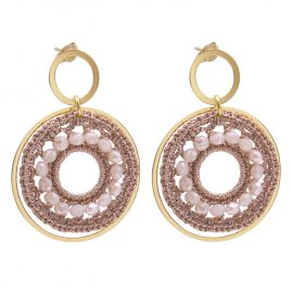 Lott Gioielli CESI114-G27777 Earrings Silk Circle S