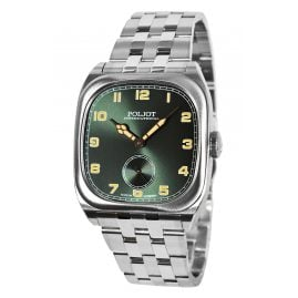 Poljot International 2760.1000115B Herrenuhr Handaufzug Bolshoi Vintage Grün
