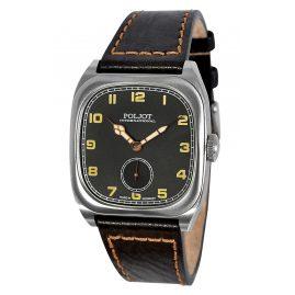 Poljot International 2760.1000113 Herrenuhr Handaufzug Bolshoi Vintage Schwarz