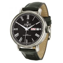 Poljot International 2427.1540913 Herren-Automatikuhr New Jaroslavl Schwarz