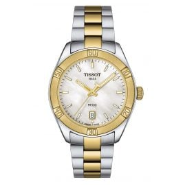Tissot T101.910.22.111.00 Women's Watch PR 100 Sport Chic Two-Colour