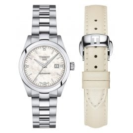 Tissot T132.007.11.116.00 T-My Lady Automatic Watch with White Exchange Strap