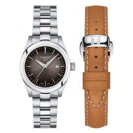 Tissot T132.010.11.061.00 Damenuhr T-My Lady Quarz mit Wechselband Braun