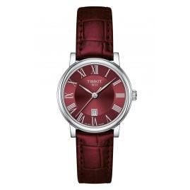 Tissot T122.210.16.373.00 Ladies' Watch Carson Lady Dark Red