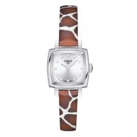 Tissot T058.109.17.036.00 Damenuhr Lovely Square Giraffe