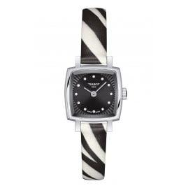 Tissot T058.109.17.056.00 Damen-Armbanduhr Lovely Square Zebra
