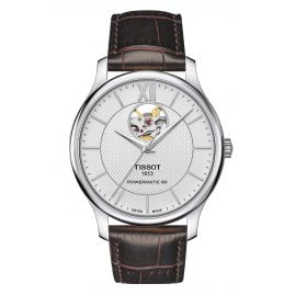 Tissot T063.907.16.038.00 Men's Watch Tradition Automatic Open Heart