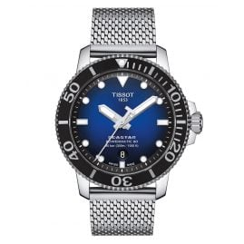 Tissot T120.407.11.041.02 Men's Diver Watch Seastar 1000 Powermatic 80 Blue