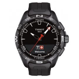 Tissot T121.420.47.051.03 Men's Wristwatch T-Touch Connect Solar Black
