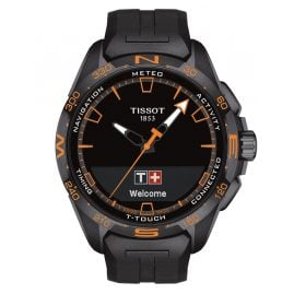 Tissot T121.420.47.051.04 Men's Watch T-Touch Connect Black/Orange