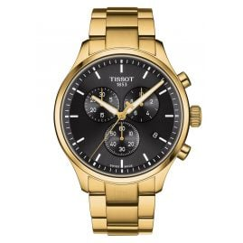 Tissot T116.617.33.051.00 Men's Watch Chrono XL Classic Gold Tone/Black