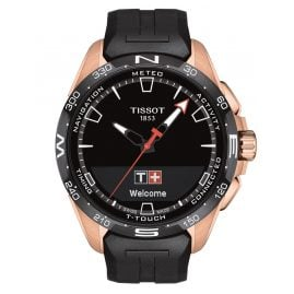 Tissot T121.420.47.051.02 Men's Watch T-Touch Connect Solar Black/Rose