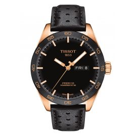 Tissot T100.430.36.051.01 Men's Watch PRS516 Powermatic 80 Black/Rose