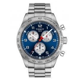 Tissot T131.617.11.042.00 Herrenuhr Chronograph PRS516 Stahl/Blau