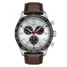 Tissot T131.617.16.032.00 Herrenuhr Chronograph PRS516 Braun/Silberfarben